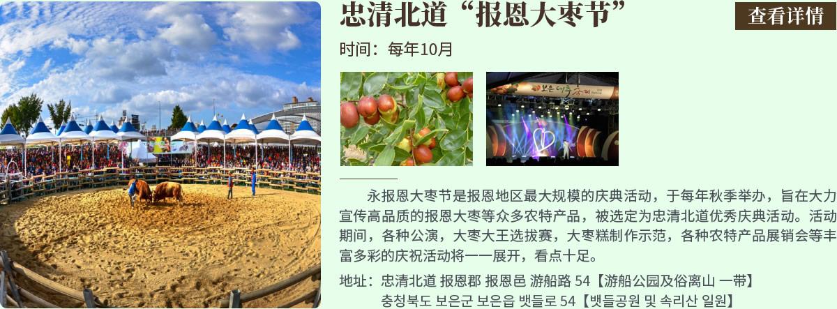 忠清北道报恩大枣节
