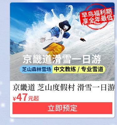 京畿道至善度假村滑雪一日游