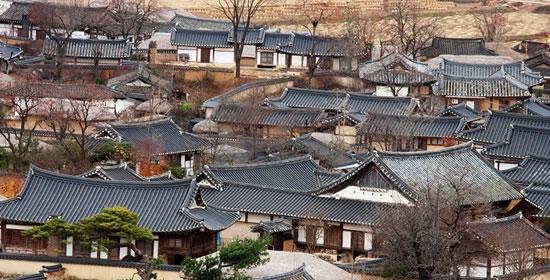 陶山书院+月映桥+安东河回村