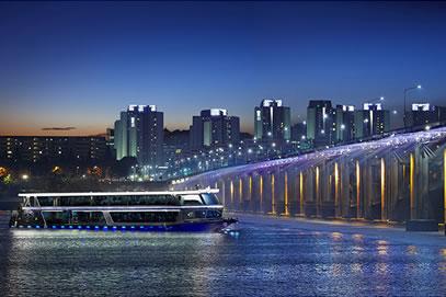 首尔汉江游览船E.LAND(不含自助餐)/?????