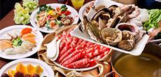 济州岛海滩烤烤自助餐