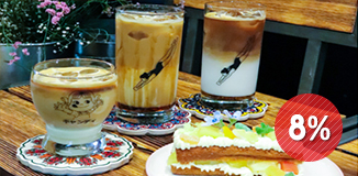 弘大momora鲜花咖啡店