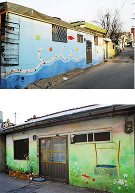 十井洞壁画村1