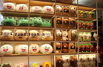 Line Friends Store明洞店