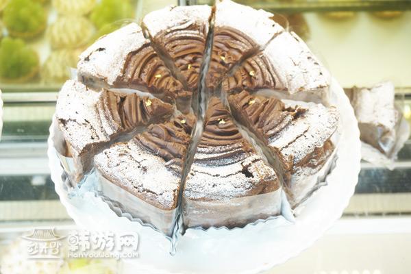 梨泰院彩虹蛋糕Frank's 咖啡馆_韩国美食_韩游网