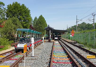 全州韩屋铁路自行车_韩国景点_韩游网