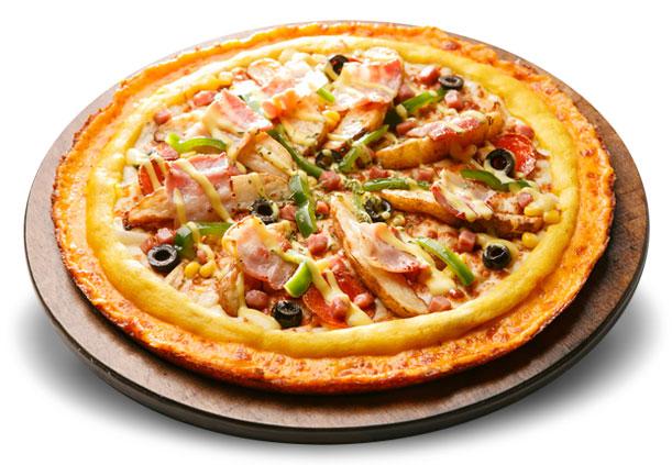 弘大BbongdderakPizzaa美味美味披萨美食大连店档口图片