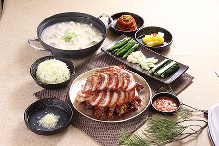 东大门 满足五香猪蹄_韩国美食_韩游网