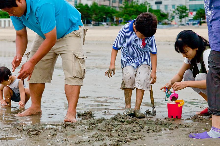 韩国海水浴场NO.1——大川海水浴场_韩国景点_韩游网