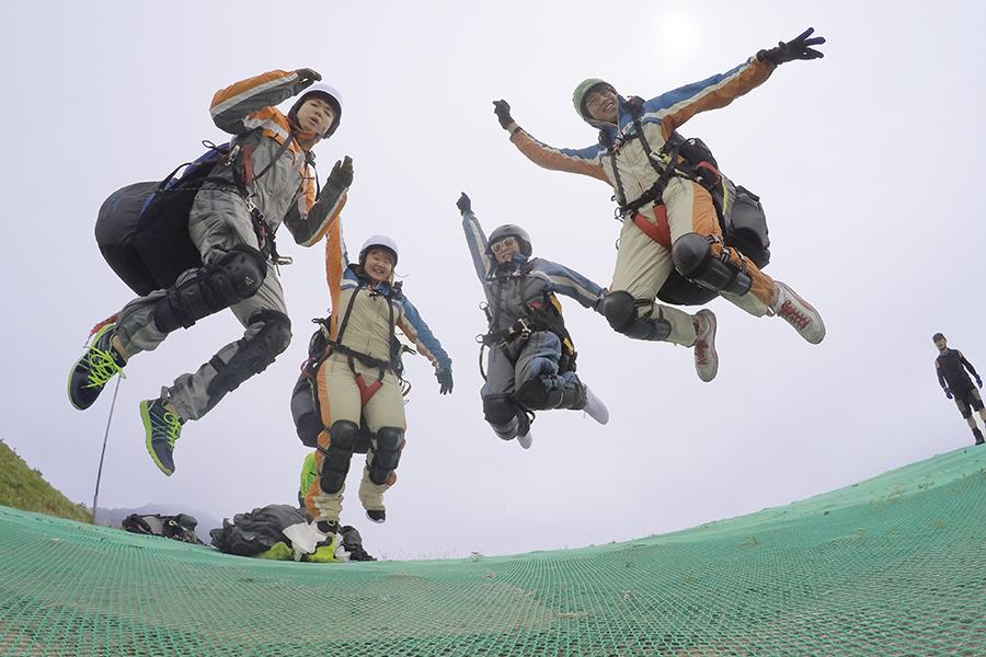 京畿道杨平滑翔伞未来 韩国滑翔伞_韩国景点_韩游网