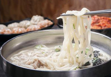 明洞 南山刀切面  烤肉_韩国美食_韩游网