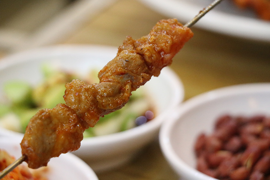 建大羊肉串_韩国美食_韩游网