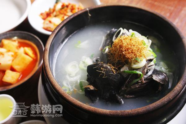 明洞百济参鸡汤_韩国美食_韩游网