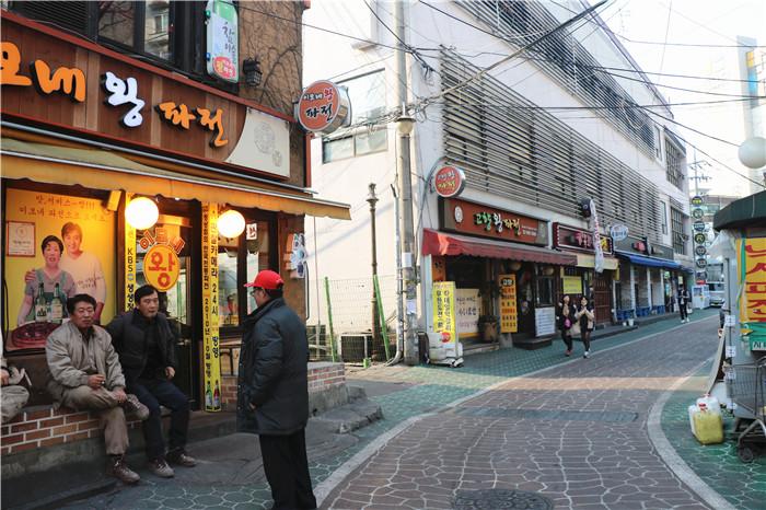 回基葱饼一条街_韩国美食_韩游网