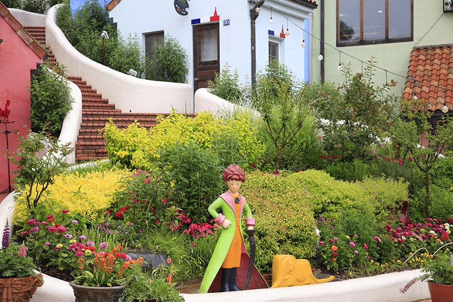 韩剧《来自星星的你》《秘密花园》拍摄地—小法国村_韩国景点_韩游网