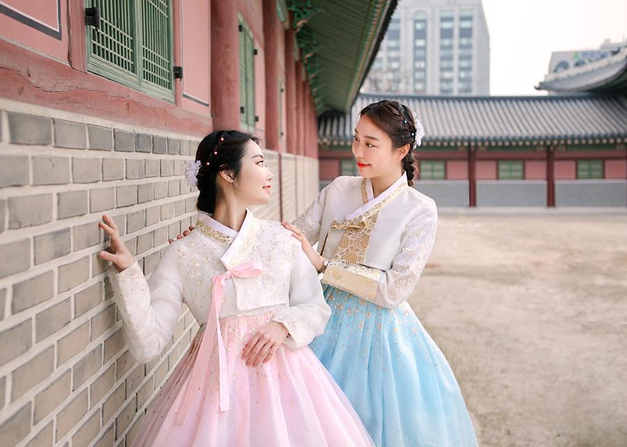 首尔昌庆宫Hanboknam韩服租赁_韩国韩流_韩游网