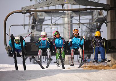 江原道原州奥丽山庄度假村滑雪场_韩国景点_韩游网