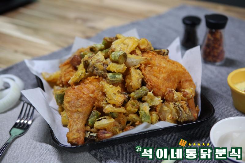 """弘大""""京锡家的炸鸡小吃""""_韩国美食_韩游网"""