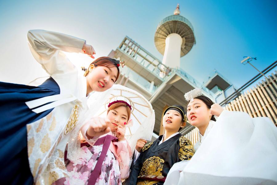 南山首爾塔韓服文化體驗館_韓國景點_韓遊網