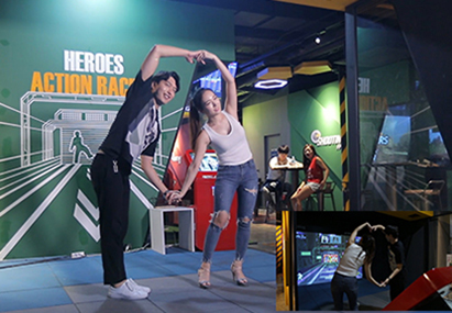 首爾Legend Heroes VR體育主題樂園(明洞、江南店)_韓國景點_韓遊網