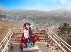 南山首尔塔韩服文化体验馆