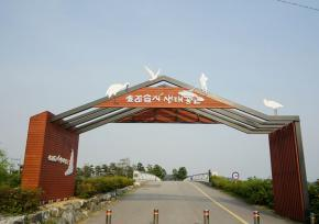 """仁川""""苏来湿地生态公园"""""""