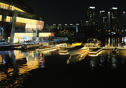 汉江金蓝色玛丽娜快艇_韩国景点_韩游网