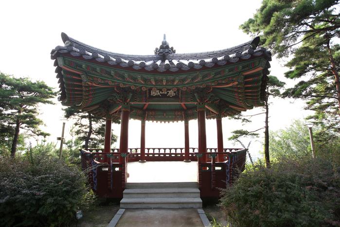 骆山公园_韩国景点_韩游网