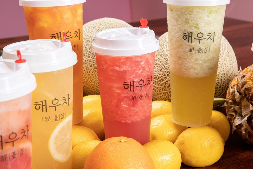 """弘大""""解忧茶 """"咖啡厅_韩国美食_韩游网"""