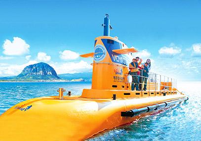 济州马罗岛潜水艇_韩国景点_韩游网