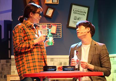 音樂劇《搭訕的法則》(有中文字幕機器)_韓國景點_韓遊網