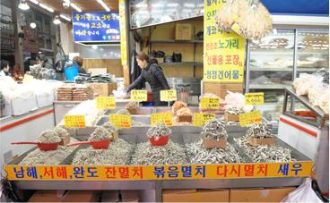 """忠清北道""""清州六街综合市场""""_韩国购物_韩游网"""