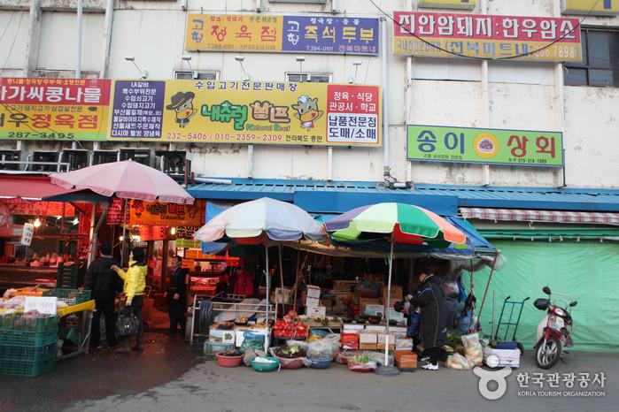 """全罗北道""""全州南部市场""""_韩国购物_韩游网"""