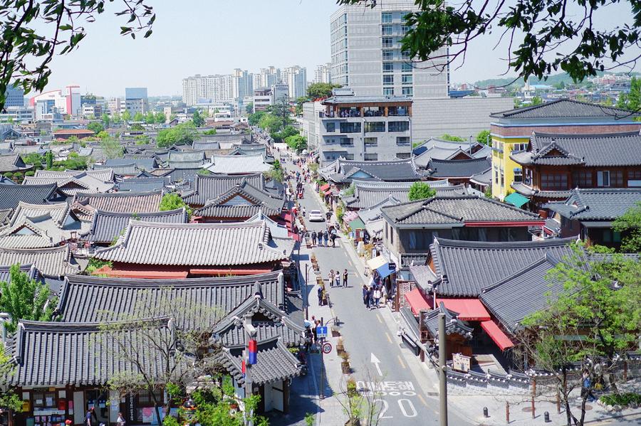 全州传统韩屋村_韩国景点_韩游网