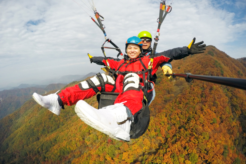 韩国杨平滑翔伞飞行园_韩国景点_韩游网