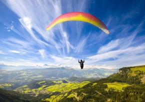 韩国杨平滑翔伞飞行园