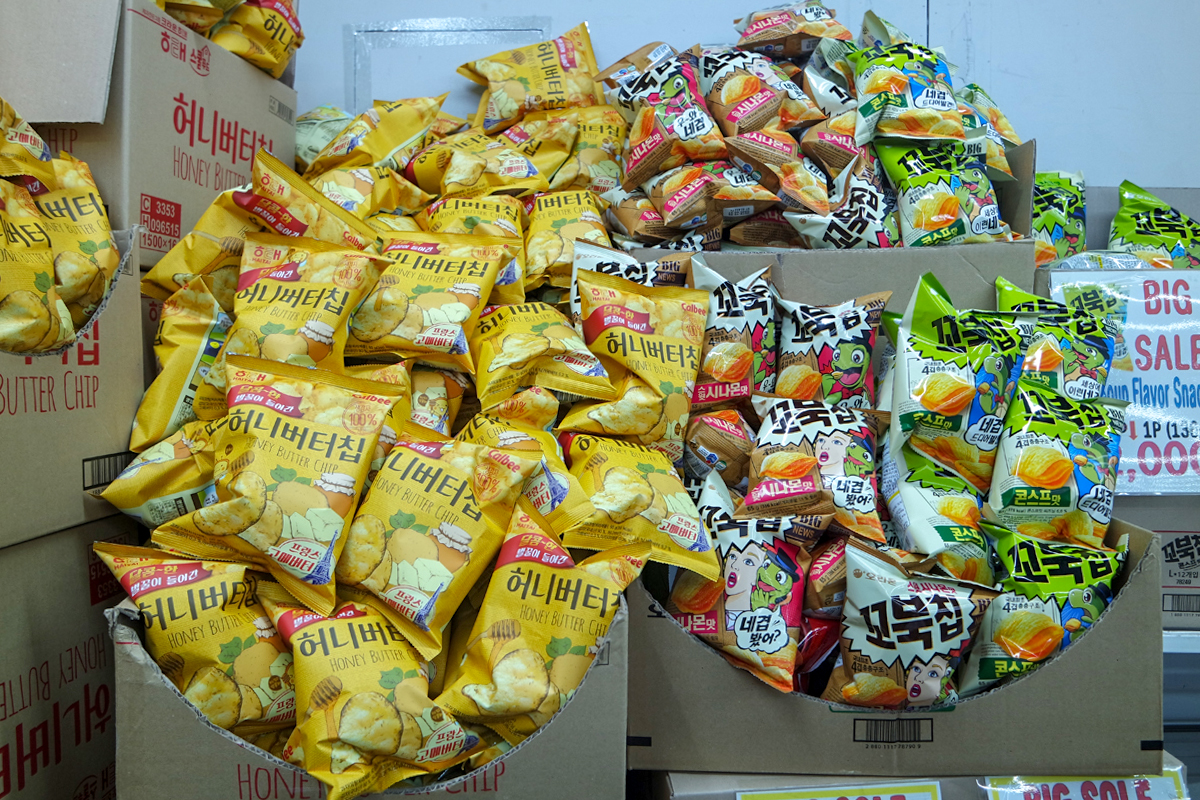 明洞LALA超市_韓國購物_韓遊網