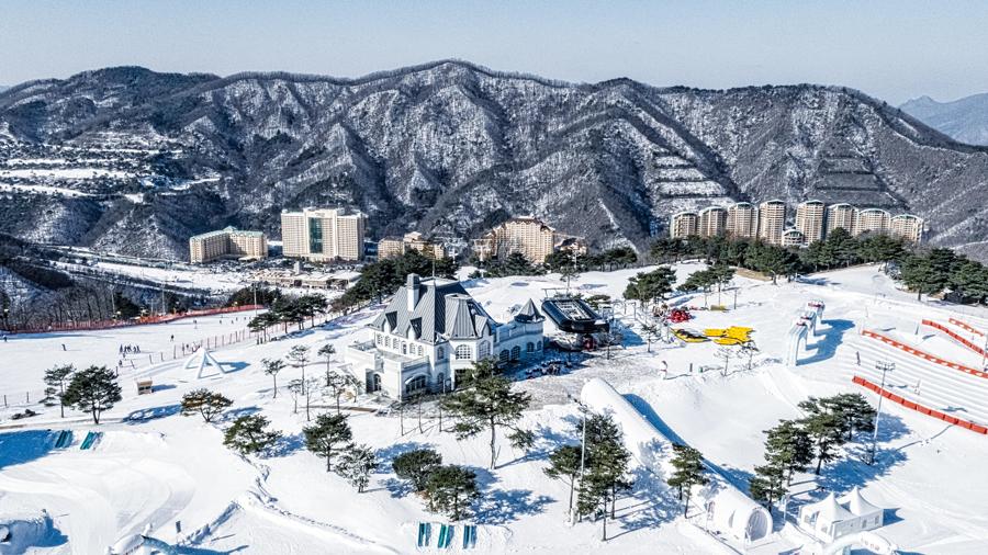 大明维瓦尔第公园滑雪场_韩国景点_韩游网