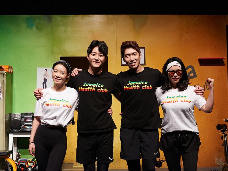 搞笑話劇《牙買加健身房》(有中文字幕機器)_韓國景點_韓遊網