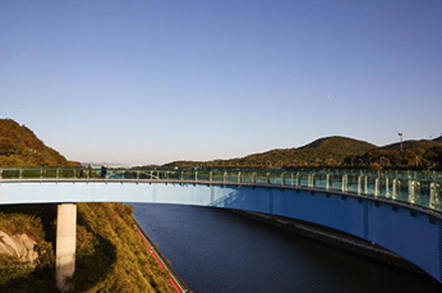 仁川京仁Ara运河_韩国景点_韩游网
